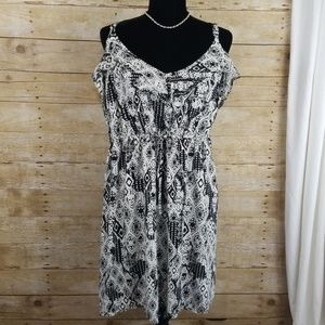 Torrid Dress With Skull Pattern